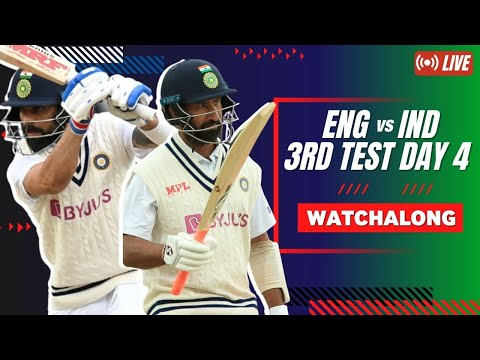 #ENGvIND | 3rd Test Day 4 | Betway Mission Domination Watchalong LIVE