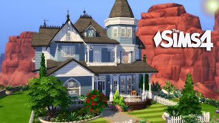 The Sims 4 - The Blue Victorian (House Build)