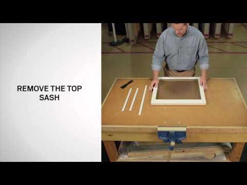 Glazing Bead Replacement on Andersen® 400 Series Tilt-Wash Windows