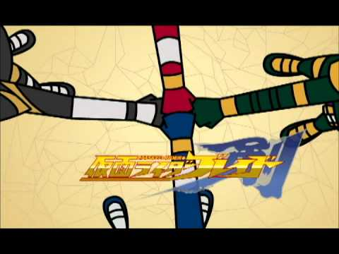 Kamen Rider Blade 2nd opening - 2D form (prototype)