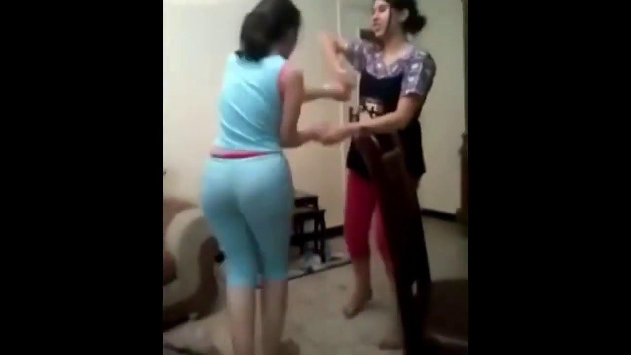 احلى رقص ليبي لاحلى مزه جميلة في المنزل رقص شرقي ساخن بحركات جنسية Belly dance   فضيحة