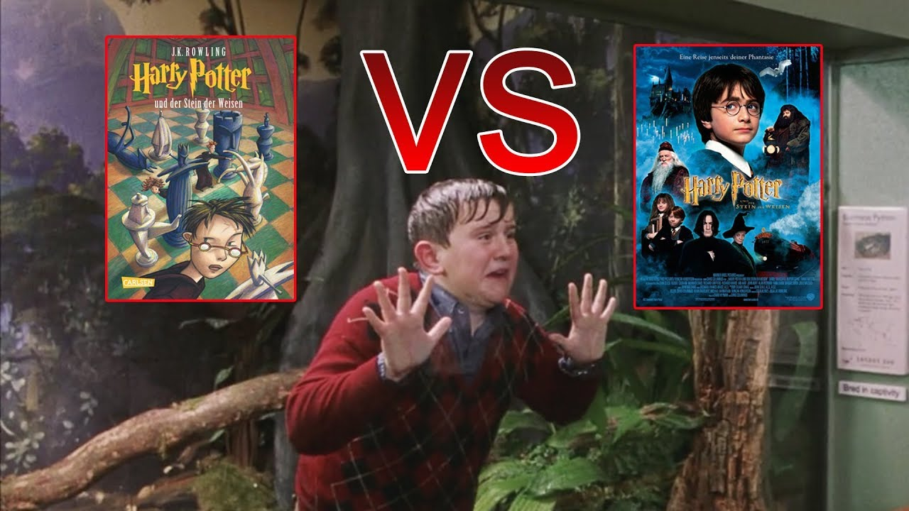 Harry Potter und der Stein der Weisen | Buch vs. Film ...