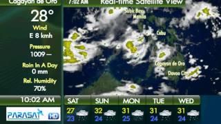 Parasat Weather Update Cagayan de Oro City: May 12, 2012