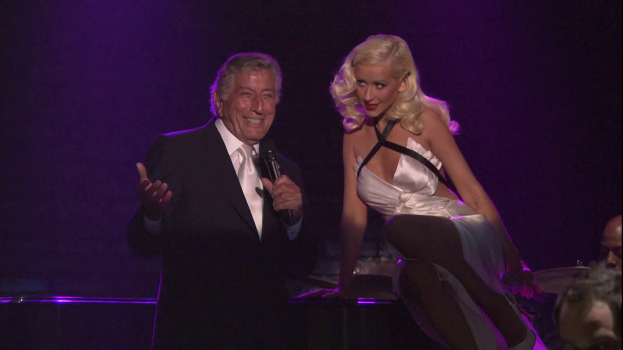 Tony Bennett and Christina Aguilera - Steppin' Out with My Baby (Live at An American Classic 20