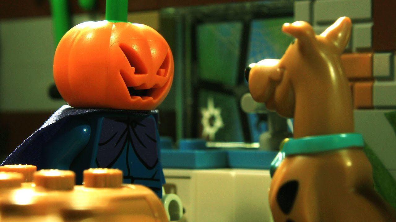 lego halloween scooby doo