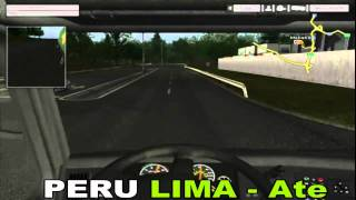 Euro Truck Simulator 2010 gameplay - PERU