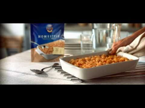 Ted Williams does his first voice-over commercial for Macaroni & Cheese