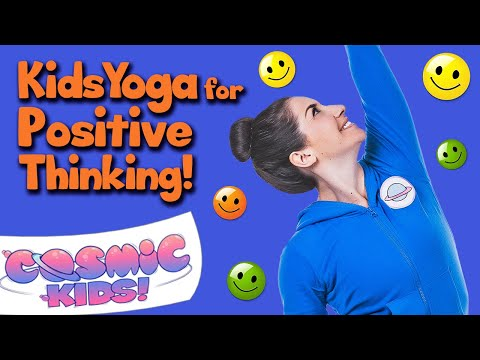 Kids Yoga for Positive Thinking! 👊💭👍😻