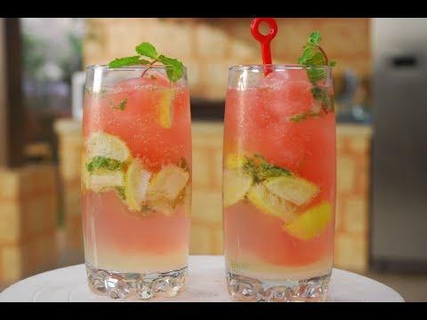 Lemonade With Berry Ice Cubes | Cooksmart | Sanjeev Kapoor Khazana