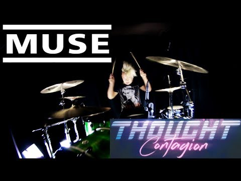 Muse - Thought Contagion - DRUMS ONLY - check description!