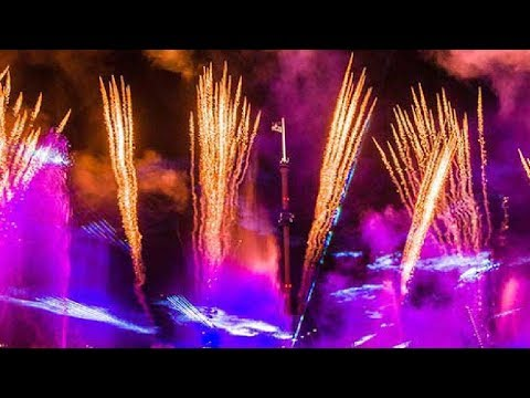 🔴-electric-ocean-at-seaworld-orlando!-🐠🌙⚡️a-summer-night-glow-event,-dance-party-&-fireworks!-🎇