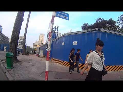 ベトナム ホーチミン ビテクスコから高島屋まで歩いた後、ビンコムまで歩くだけ。2017/03