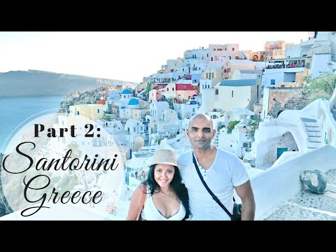 VLOG 6: Part 2 2014 Things To Do In Santorini Greece Oia Fira Travel Walking Tour Follow Me Around