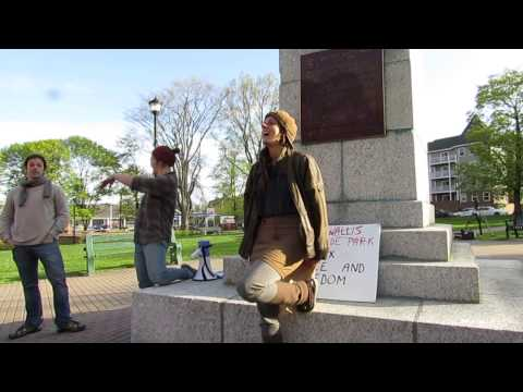Cornwallis Statue Protest in Halifax 3of7 speeches