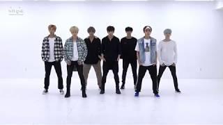 [Mirrored + Slowed 75%] BTS - DNA (dance practice)