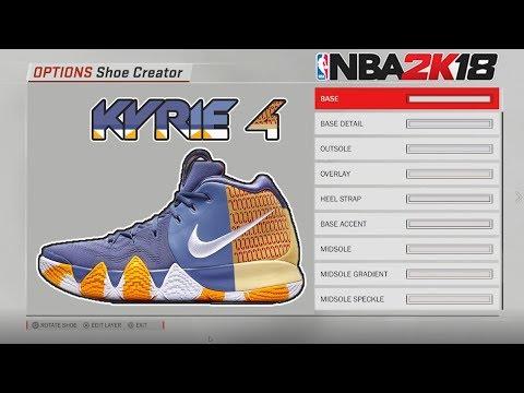 new concept cc5ff 2ccbf NBA 2K18 Shoe Creator   Kyrie 4 London