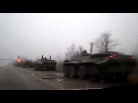 Ukraine War - Russian military forces in Crimea move to Simferopol