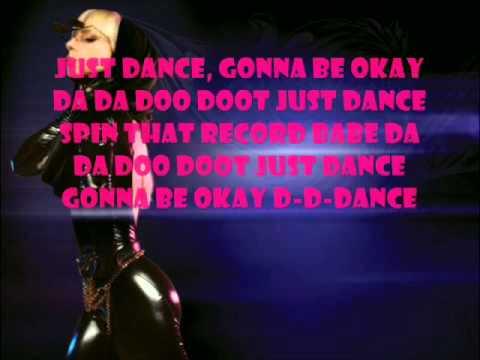 Just Dance lyrics by lady gaga