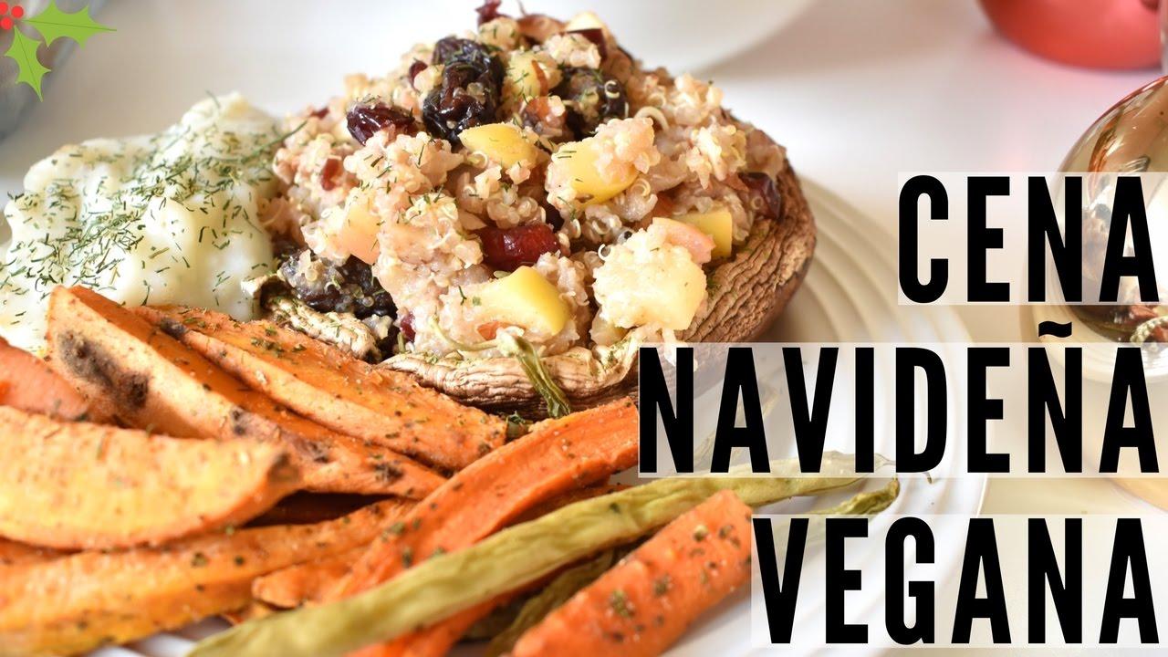 ideas de cenas navidad vegetarianas