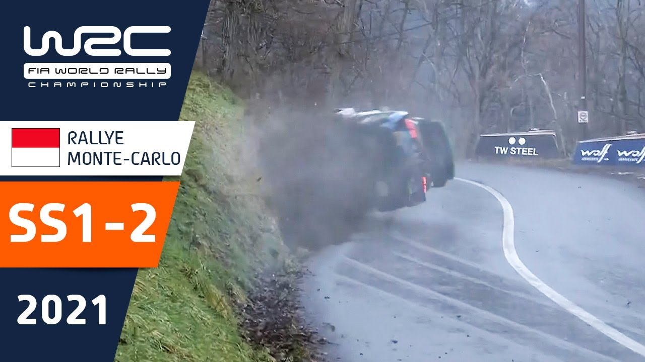 WRC - Rallye Monte-Carlo 2021: Highlights Stages 1-2