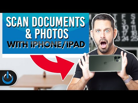 Scan Documents And Photos With IPhone/iPad