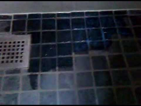 Slate Shower Floor Seal