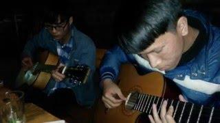 Ông Trời Cô Đơn (QVTH) - guitar Ninh Nờ Vờ Nờ, Minh béo, Thanh Cốp, Đạt