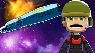I Fought in an Epic Space Battle Against a UFO Army! - Space Crew Gameplay