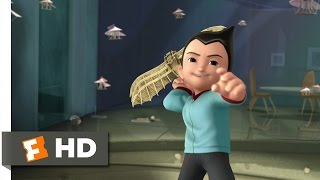 Astro Boy (2/10) Movie CLIP - Da Vinci