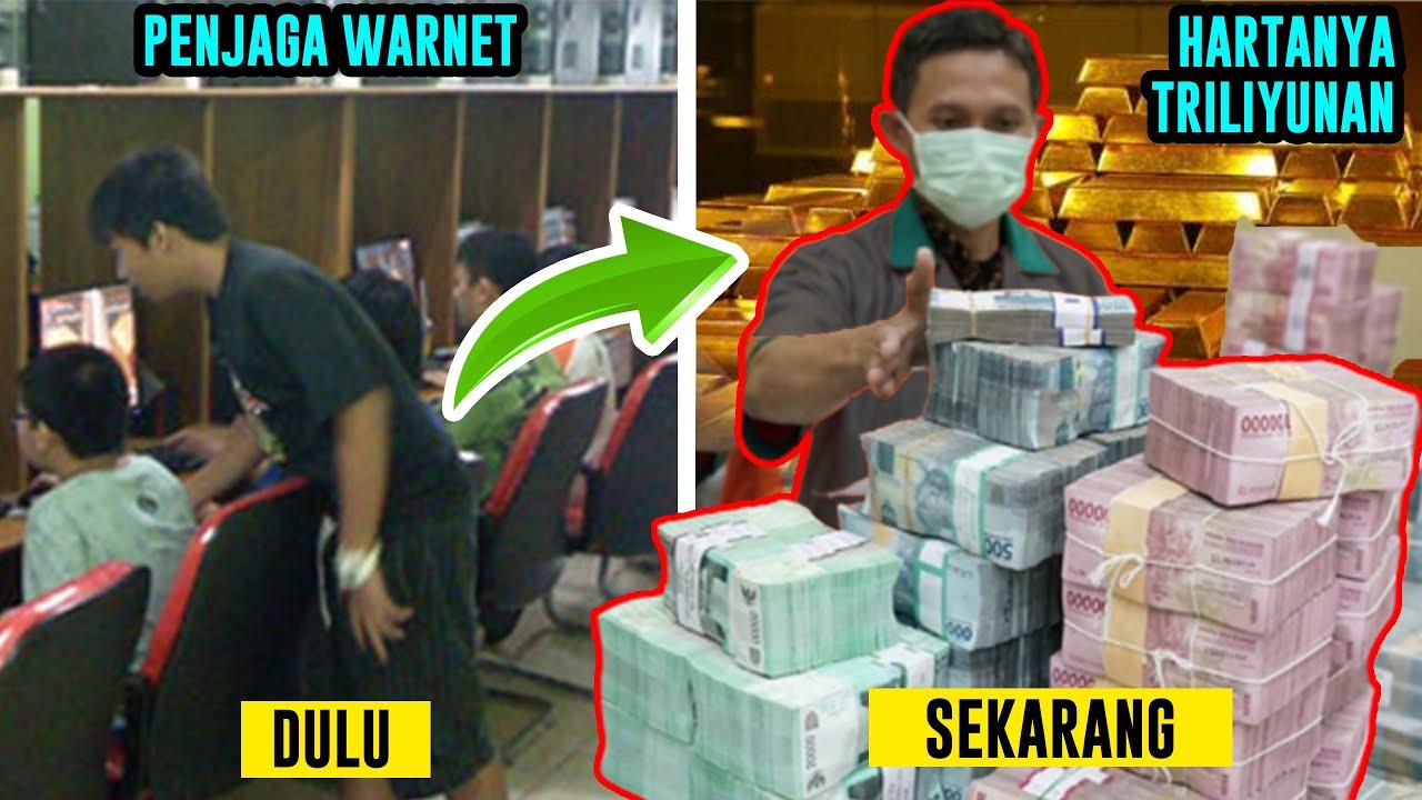 No 3 Pernah Jadi Penjaga Warnet! Inilah 5 Anak Muda Terkaya Di Indonesia - Uangnya Triliunan Rupiah!