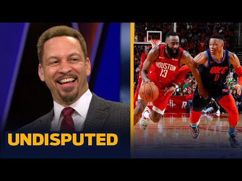 Harden or Westbrook? Chris Broussard picks who has the more impressive streak | NBA | UNDISPUTED