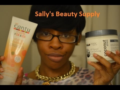 LC | Sally's  Beauty Supply Haul Ft./ Cantu Care For Kids & Eden Bodyworks