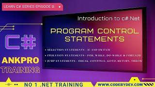 C# Beginner to advanced - Lesson 8 - Program Control Statements Part 1