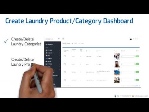Laundry Mobile App Features