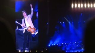 PAUL McCARTNEY OUT THERE JAPAN TOUR 2015 の東京ドーム最終日のスター...