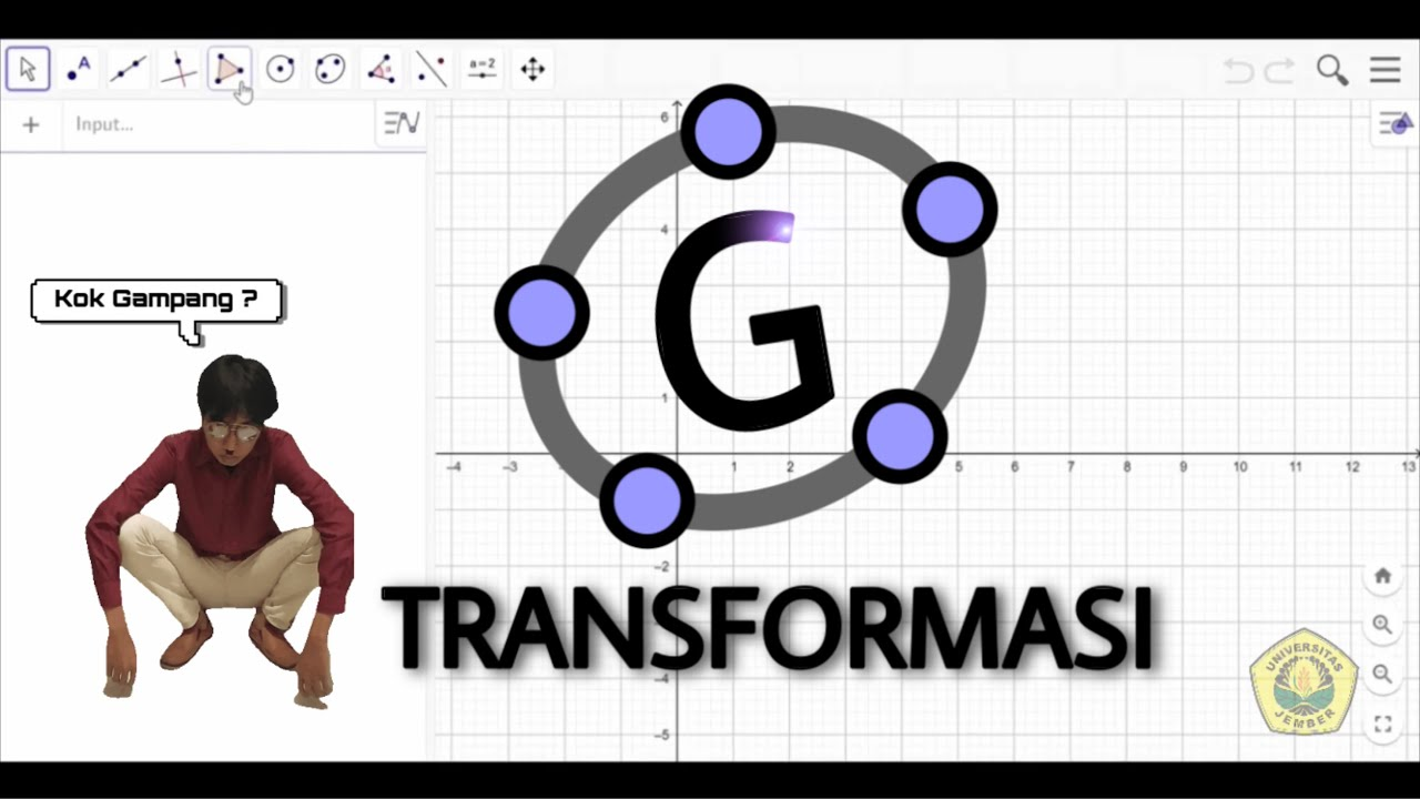 TUTORIAL MUDAH GEOGEBRA TRANSFORMASI