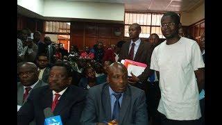 Nation writer Menya presented in court
