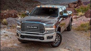 Самый мощный пикап Ram Heavy Duty Laramie Longhorn 3500 2019 обзор Автопанорама