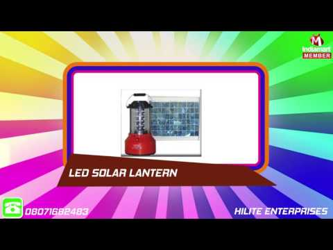 Solar Products by Hilite Enterprises, Lucknow