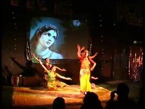 Devaki (Karnamrita) Dance | Janmastami at Bhaktivedanta Manor 2007
