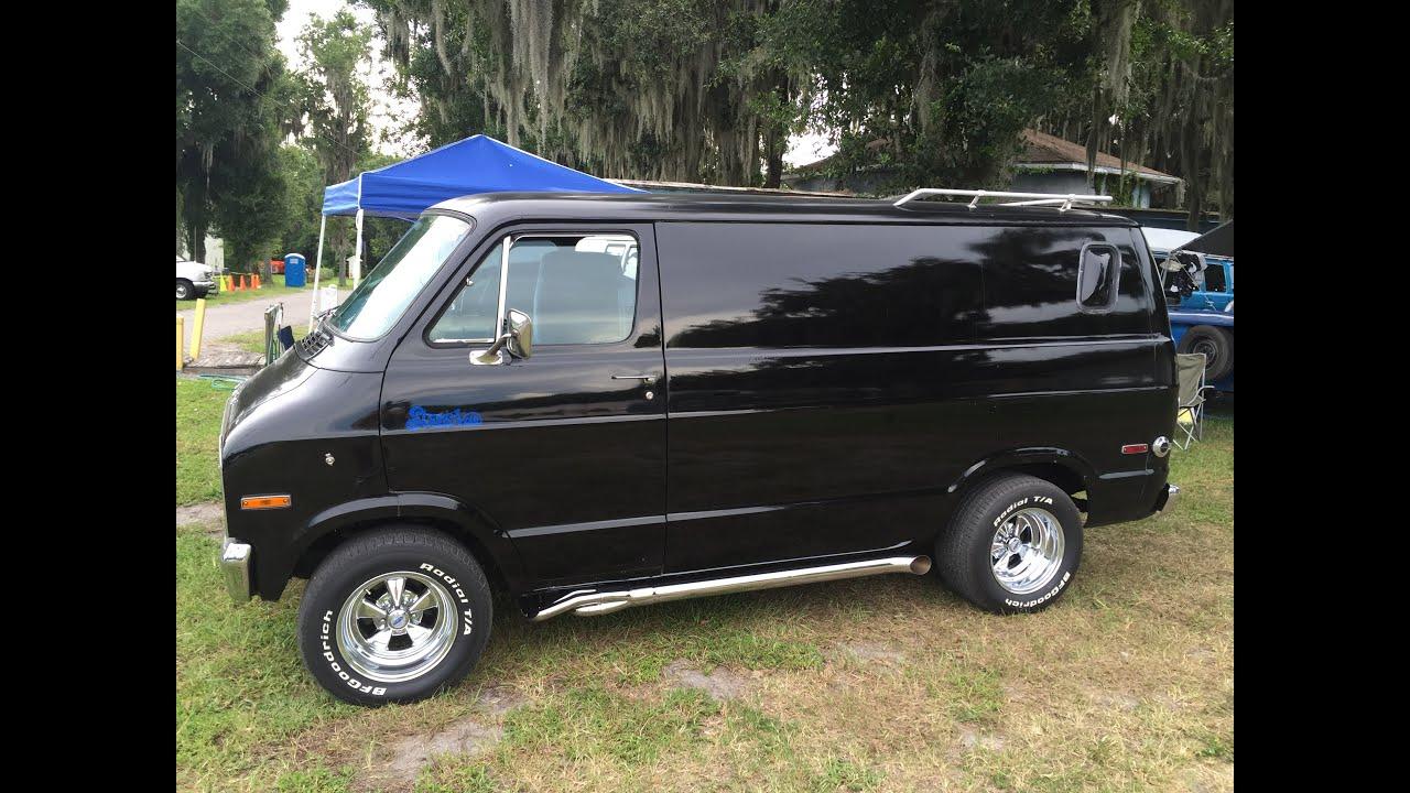 Dodge Van Work >> Richard's 1977 Dodge Street Van - YouTube