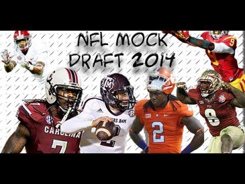 2014 NFL Draft: 2014 NFL Mock Draft v. 3.0 1st Round Picks 21-32