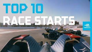 Race Starts: Top 10 Moments! | ABB FIA Formula E Championship