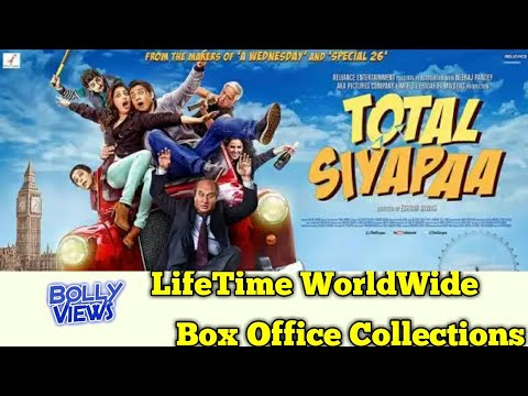 TOTAL SIYAPAA 2014 Bollywood Movie LifeTime WorldWide Box Office Collection Verdict HiT Flop