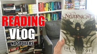 READING VLOG 2019 || Nevernight by Jay Kristoff || Books with Emily Fox