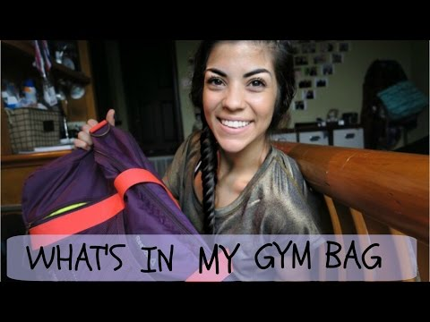 WHATS IN MY GYM BAG?