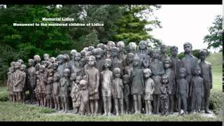 Memorial Lidice - Monument to the murdered children of Lidice