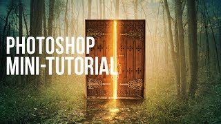 Photoshop Mini-Tutorial: Glowing Door
