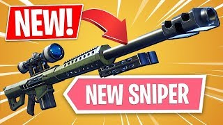Fortnite Battle Royale : HEAVY SNIPER RIFLE ACTION!