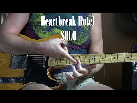 Heartbreak Hotel SOLO lesson - How to Play Electric Lead Guitar L30